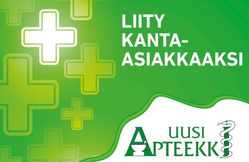 Liity Savonlinnan Uuden apteekin kanta-asiakkaaksi